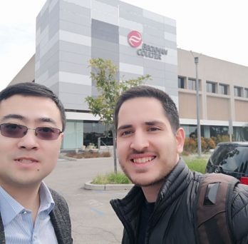 Ahmadian Yazdi and Mechanical and Industrial Engineering Assistant Professor Jie Xu