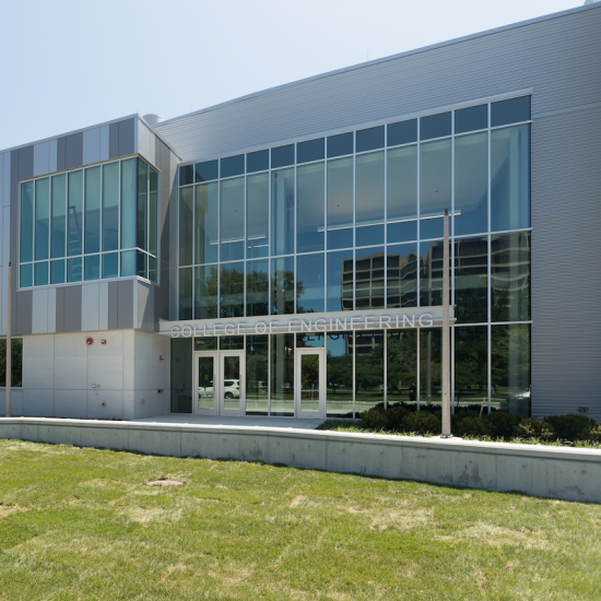 front of the Engineering Innovation Building